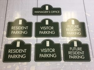 custom signage collection